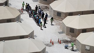 Temporary Tent Facility For Migrant Children Set To Be Expanded - Video