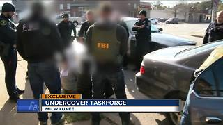 Inside an undercover FBI Milwaukee task force targeting violent criminals - Video