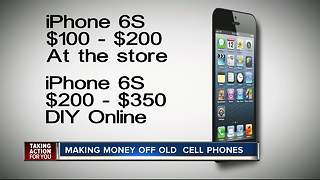 How to safely sell your cell phone for the most money - Video