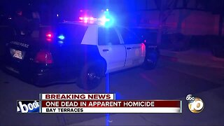 SDPD investigating homicide in Bay Terraces