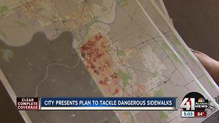 City presents plan to tackle dangerous sidewalks - Video