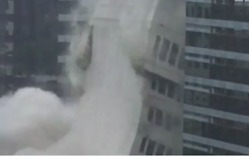 University of Texas Building Imploded in Downtown Austin - Video