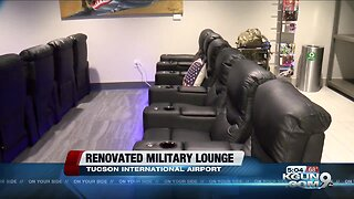 Tucson International Airport Military Lounge's grand re-opening