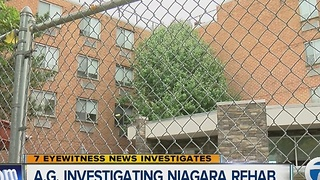 N.Y. Attorney General Investigating Niagara Rehab - Video