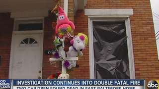 Investigation continues into double fatal fire on N. Clinton Street - Video