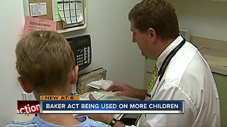 Baker act being used on more children - Video
