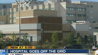 Local hospital now officially 'off the grid' - Video