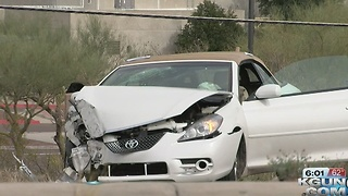 Motorist hospitalized after rollover - Video
