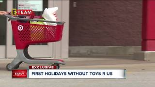 First holidays without Toys R Us