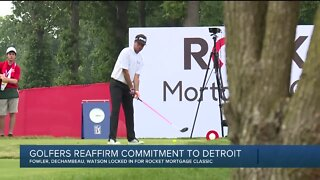 Detroit's Rocket Mortgage Classic gets re-commitments from Fowler, Watson, Reed