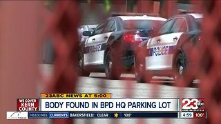 Body found in BPD HQ parking lot - Video