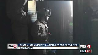 Final funeral arrangements for fallen Cape fire engineer announced
