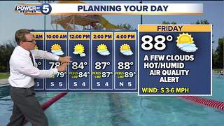 Thursday weather - Video