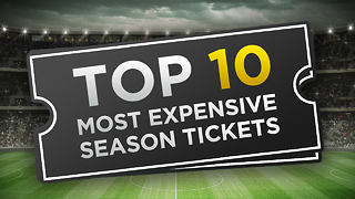 Top 10 Most Expensive Season Tickets - Video