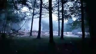 House explosion in Shawano County - Video
