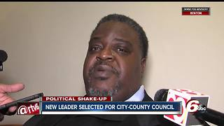 Indy City-County Council elects Rev. Stephen Clay new president - Video