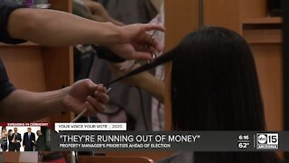 Valley business owners running out of money