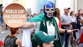 Which fans won best dressed at the World Cup? - Video
