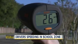 Parents concerned about dangerous speeding drivers near Greco Middle School