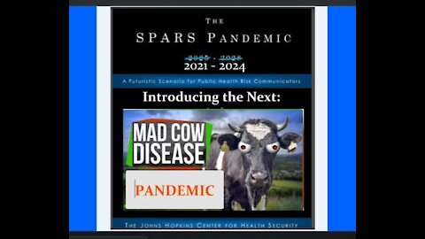 Will the Present COVID 19 Vaccinations Be Triggering the Next 'Mad Cow' Disease Zombie Apocalypse?