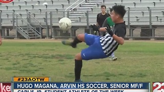 Athlete of the Week: Hugo Magana - Video