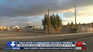 Community meeting for new proposed homeless shelter