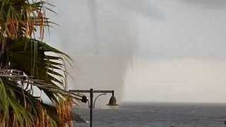 Waterspout Causes Havoc on Southern Italian Coast
