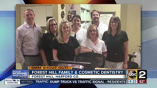 Big smiles in shout out from Forest Hill Family & Cosmetic Dentistry - Video