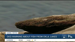 DEQ warning about fish from Oklahoma lakes