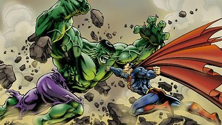 10 Marvel Superheroes Who Could Defeat Superman WITHOUT Kryptonite - Video