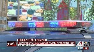 Woman shot, killed in home in KCMO - Video