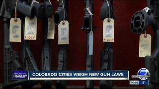 Boulder considers assault weapons ban - Video
