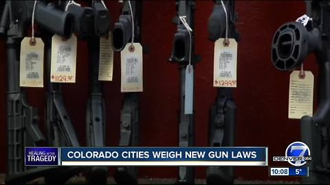 Boulder considers assault weapons ban