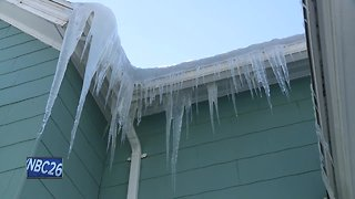 Ice Dams creating problems