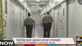 County attorney says office will continue to keep criminals off streets - Video