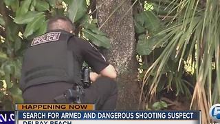 Suspect sought in deadly Delray Beach shooting - Video
