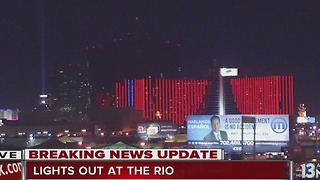 Guests in 400 rooms moved after fire at Rio Las Vegas - Video