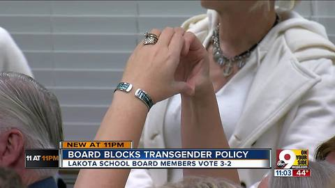 Lakota Schools votes against inclusive bathrooms