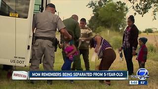Undocumented immigrant mother separated from child, 5, at border shares story - Video