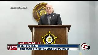 Police union makes corruption allegations against IMPD ahead of Aaron Bailey Merit Board hearing - Video