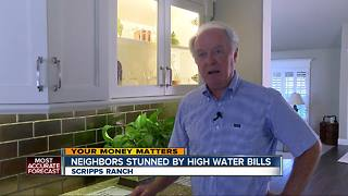 Neighbors get mysteriously high water bills - Video