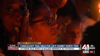 Family, friends honor Lee's Summit teen at vigil - Video