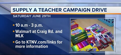 Supply drive for local teachers