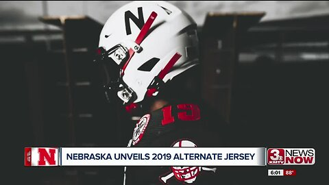 Nebraska unveils 2019 alternate jersey