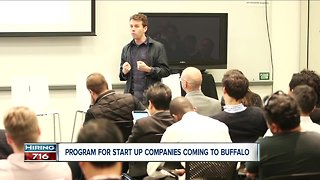 Program launching in Buffalo to help startup companies