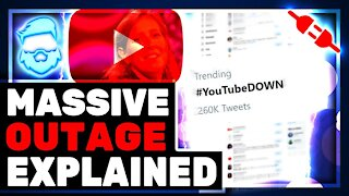Massive Youtube Outage & Huge Increase In Shadow Bans On Creators ItsaGundam & Nerdrotic