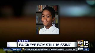 Police hope for clues in search for missing Buckeye boy after 1 year - Video