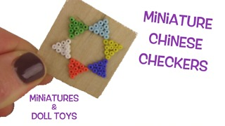 DIY miniature board game: Chinese Checkers