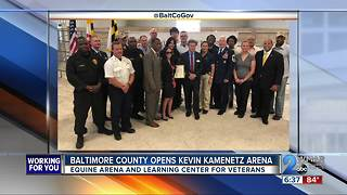 Baltimore County Opens Kevin Kamenetz Arena - Video