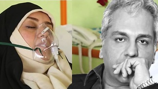 Elham Charkhandeh admitted in the hospital